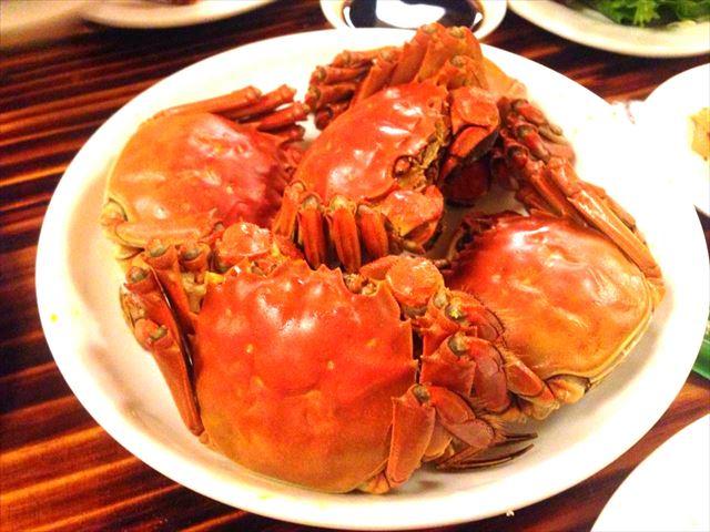 上海蟹(オス・メス)