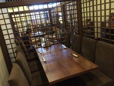 フロアテーブル席