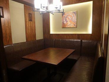 6名様用テーブル個室